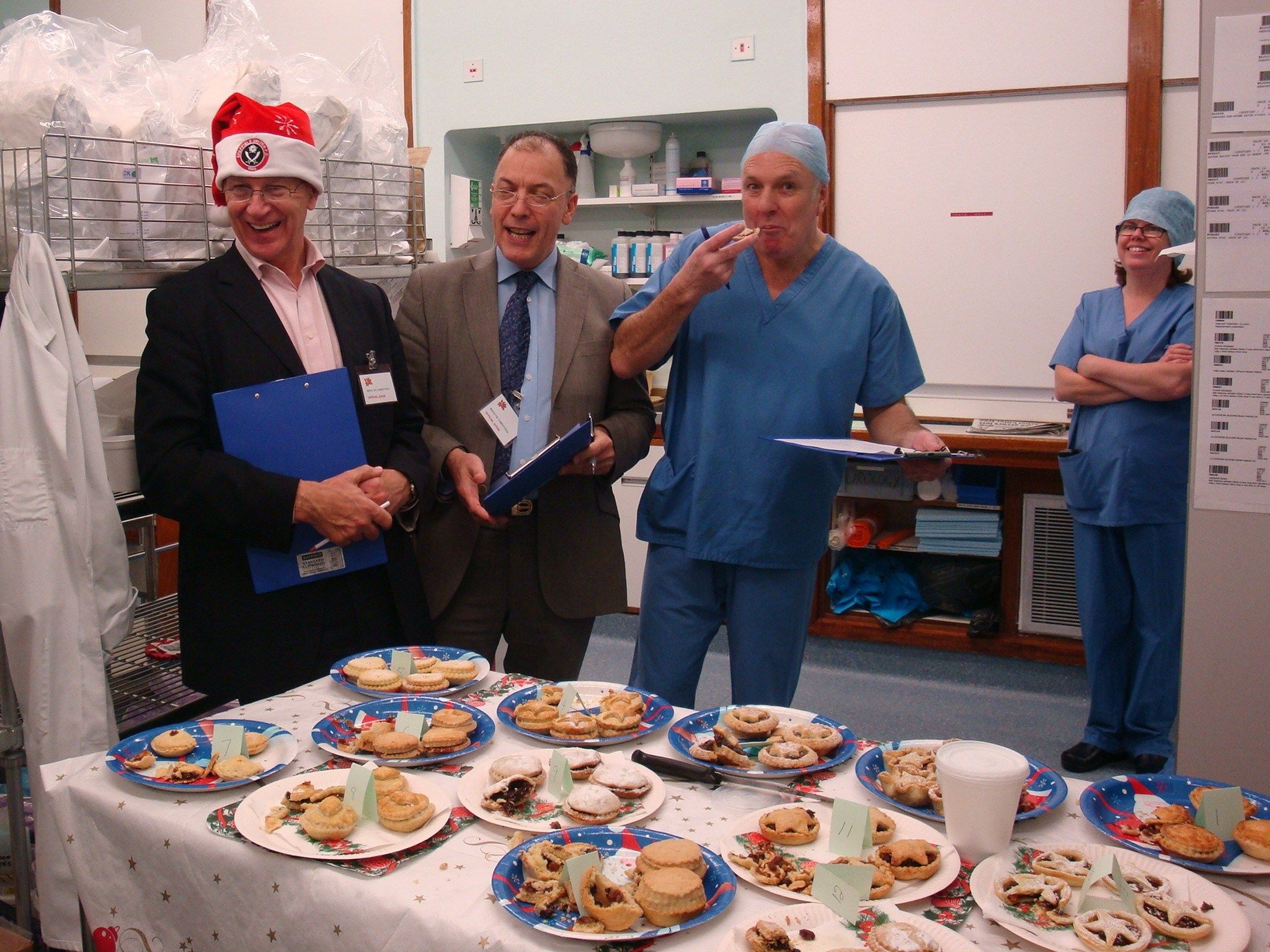 Mince pie competition