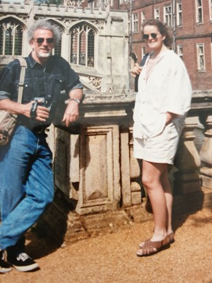 Dawn and dad cambridge early years