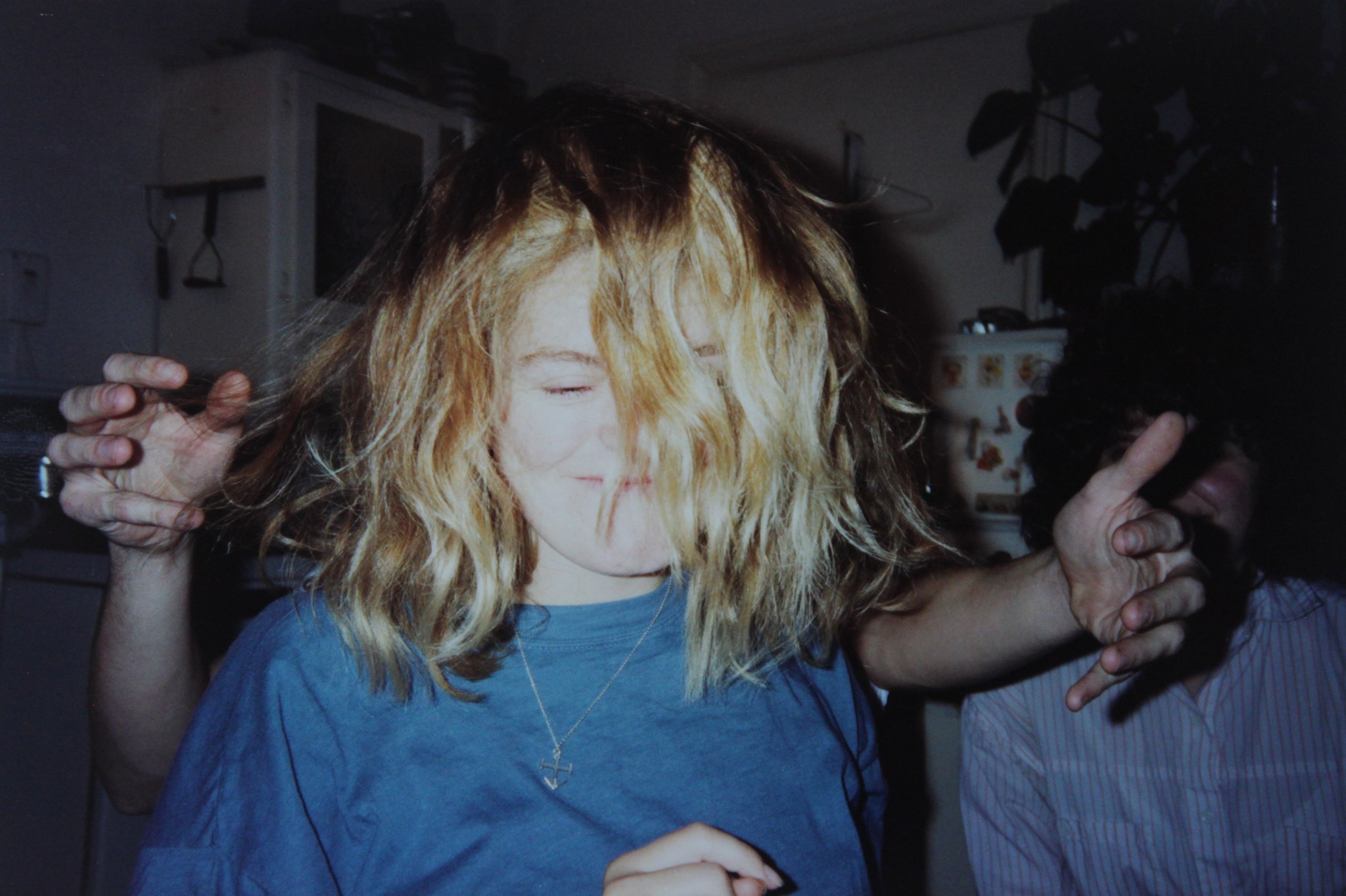 Dawn letting her hair down at a 67 Chesterton Road party