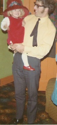 Dressing up with Dad