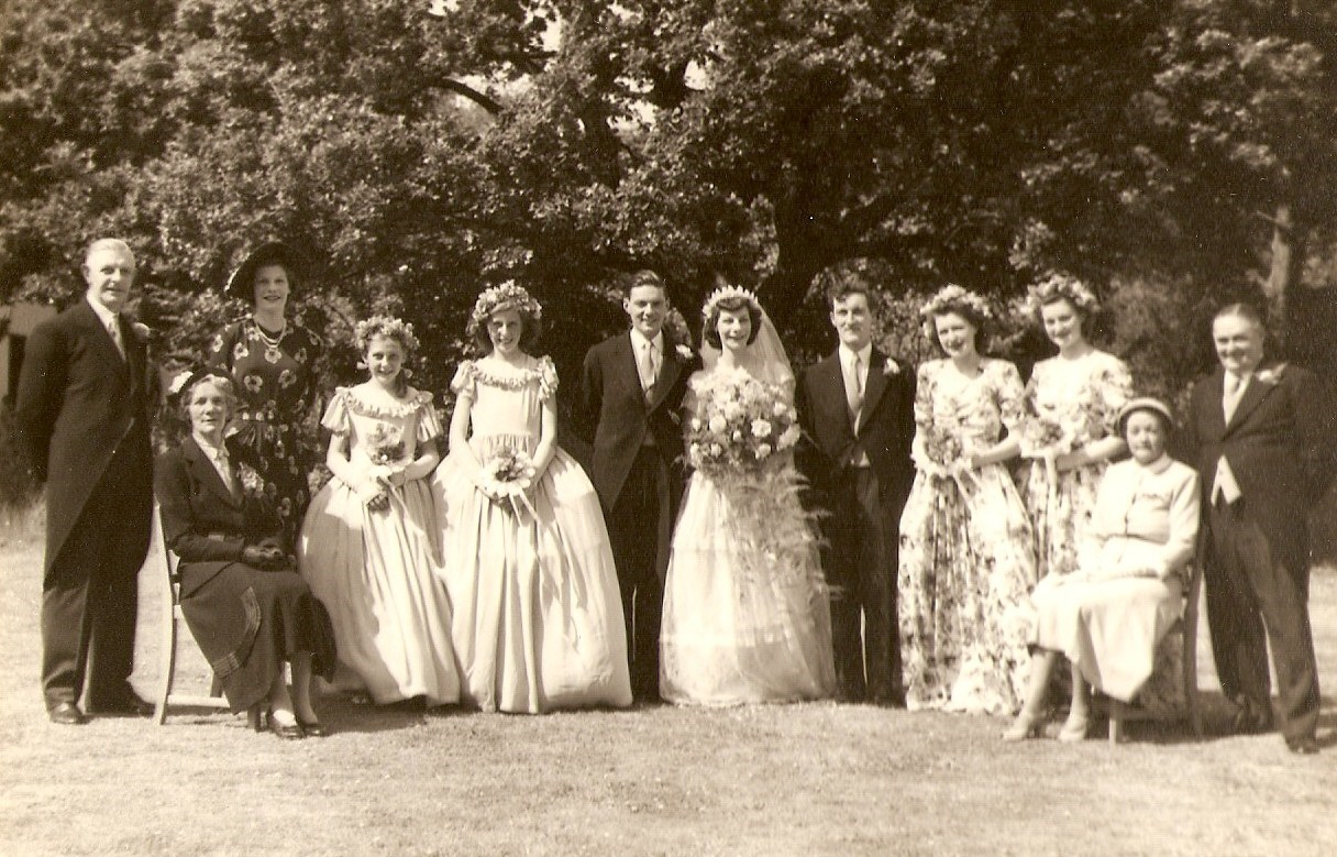 Wedding of Peter and Freda 11.06.49
