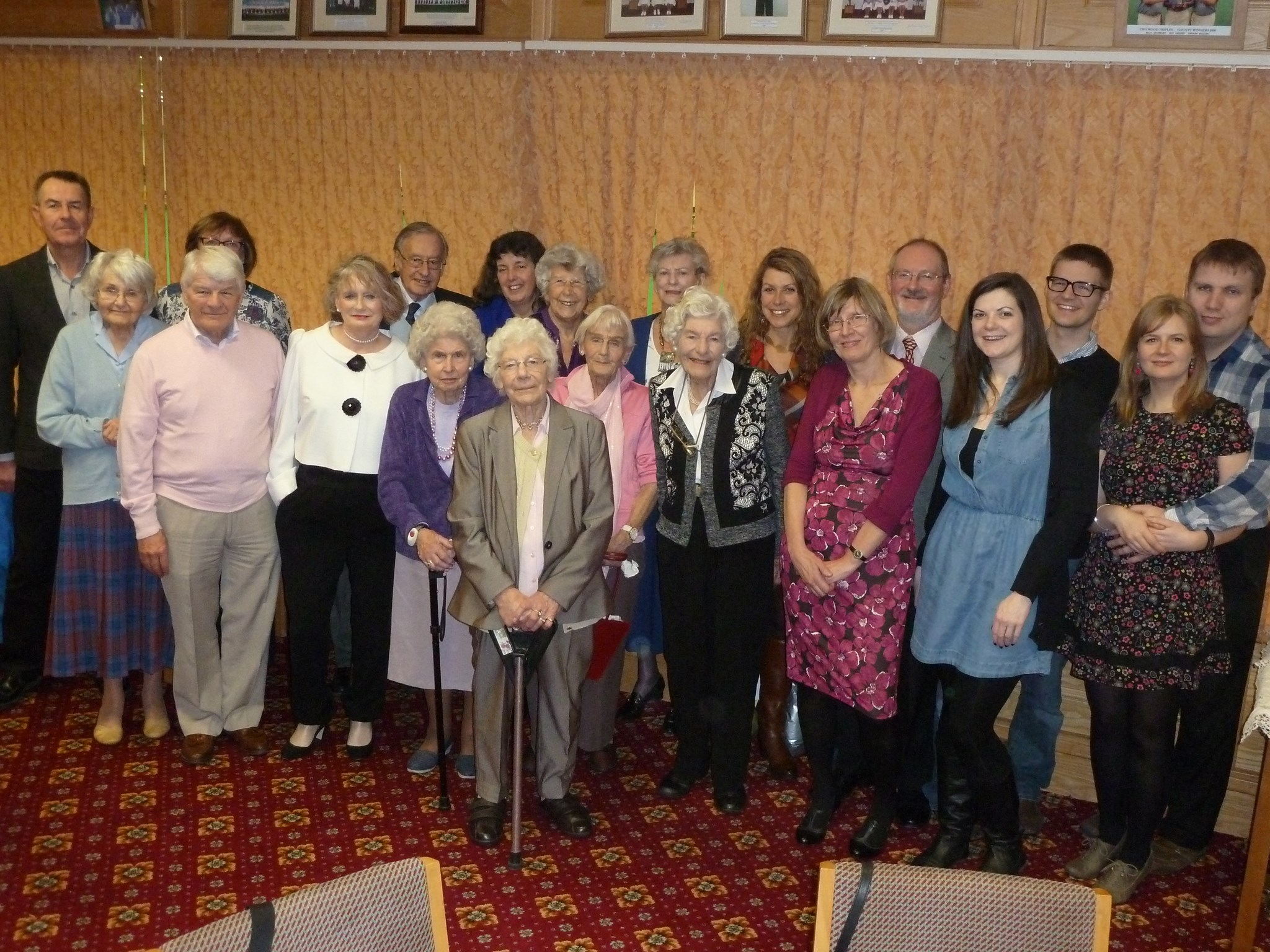 2015-01.25 Mum's 90th at Palmerstone family and friends