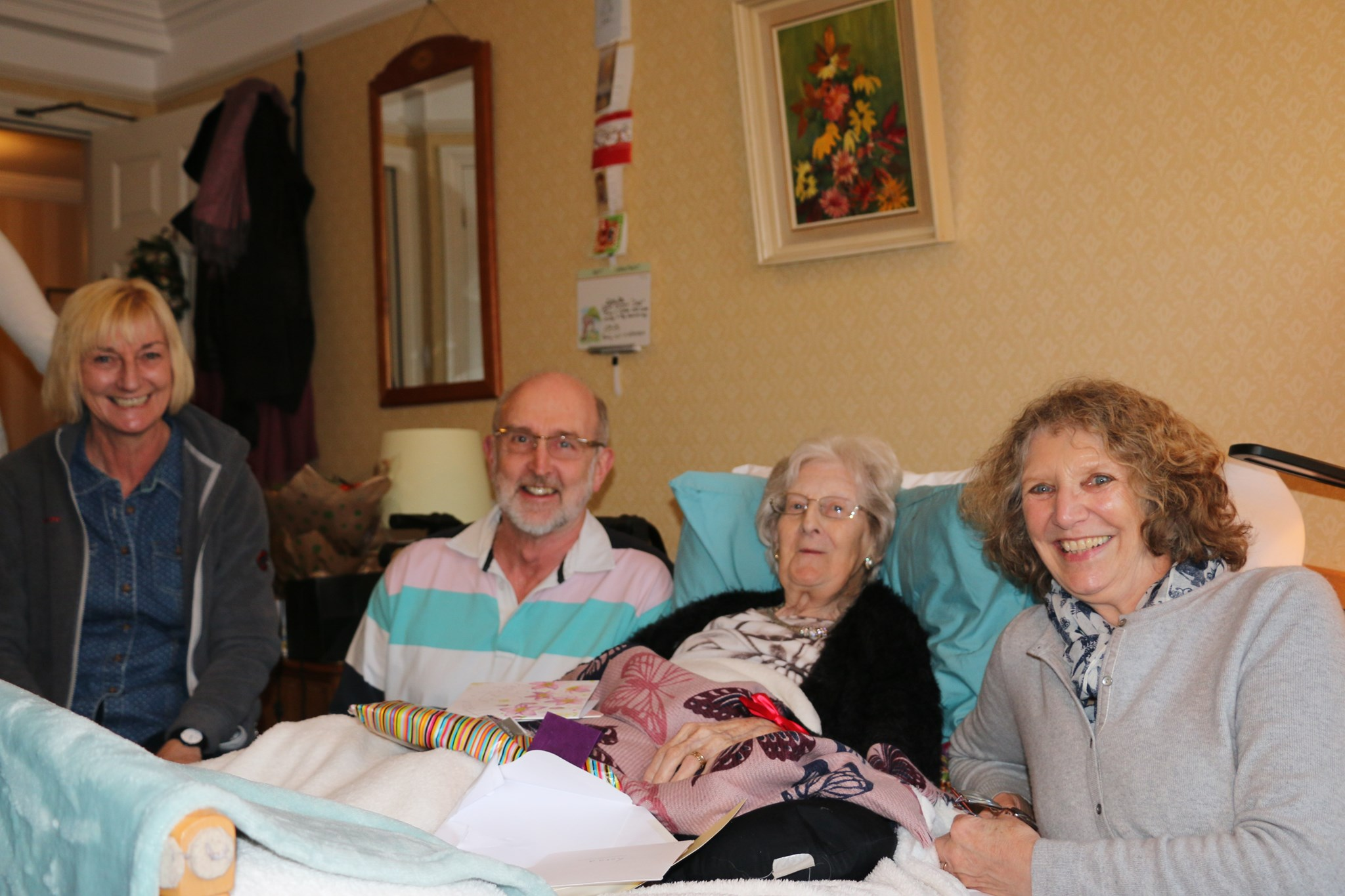 Catching up with Jenny, Keith and Sheila from Chapel Close