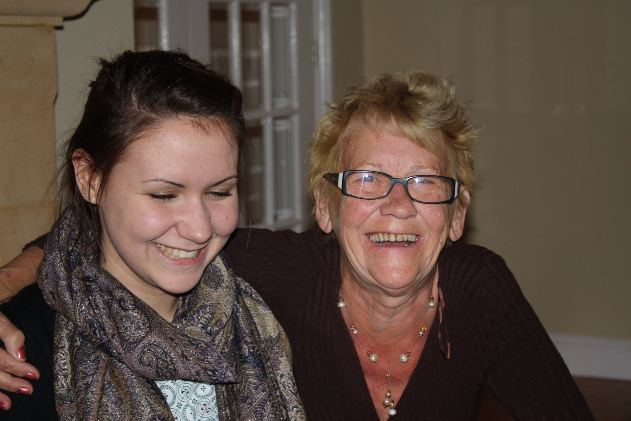 Me and Nan on my 18th birthday