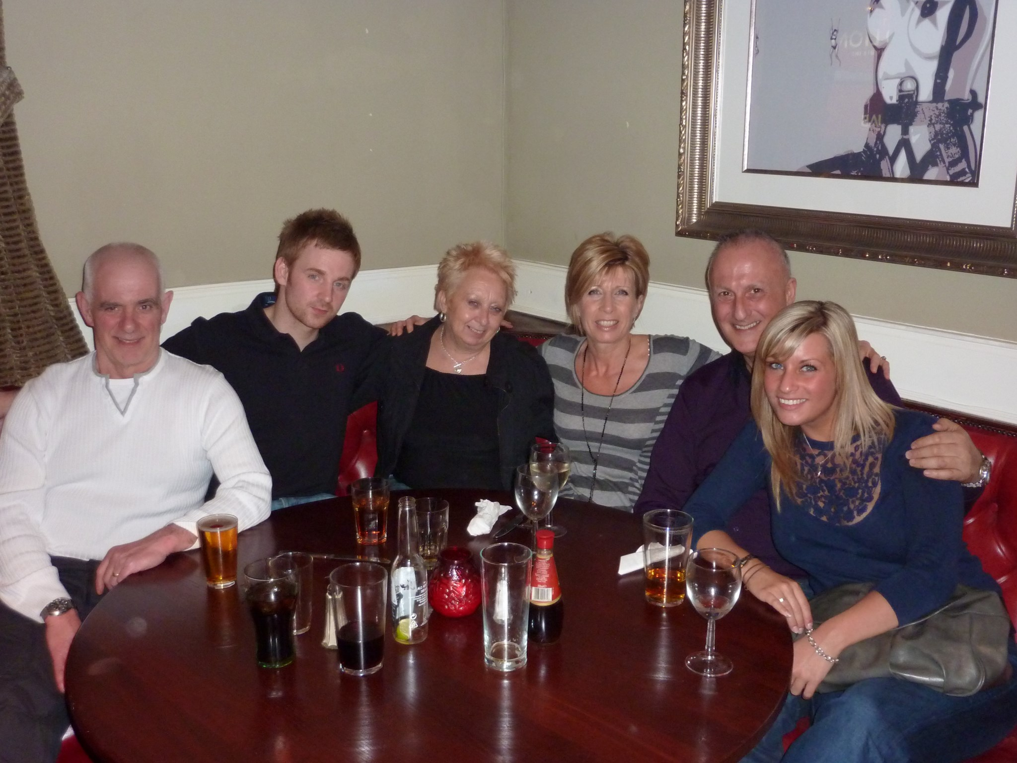 Simon's 30th - all the parents together x