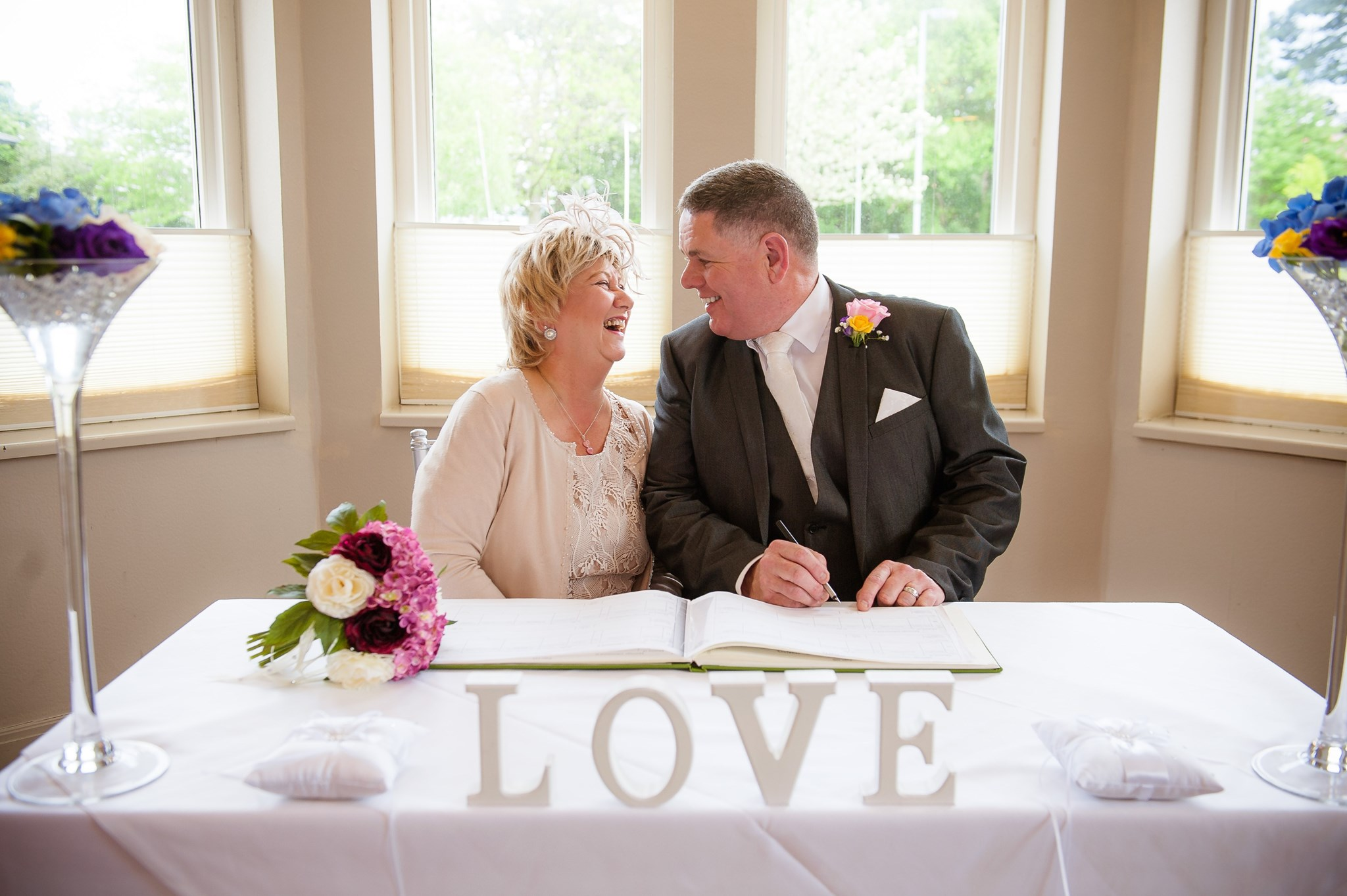 Our Wedding Day May 2017