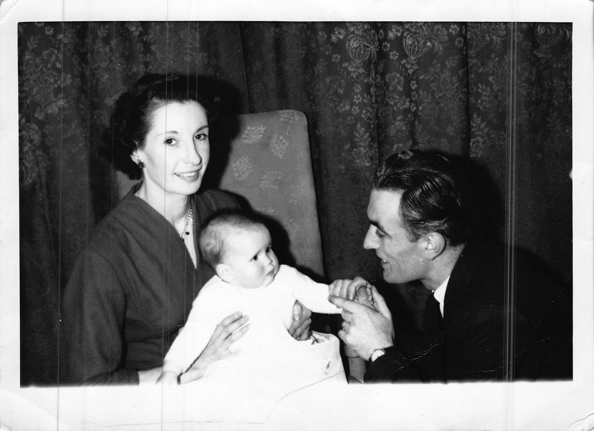 Adele Christening March 1958