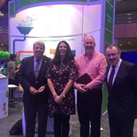 Peter with Pharmacist Support Chief Executive & past Chairs at RPS Conference 2016