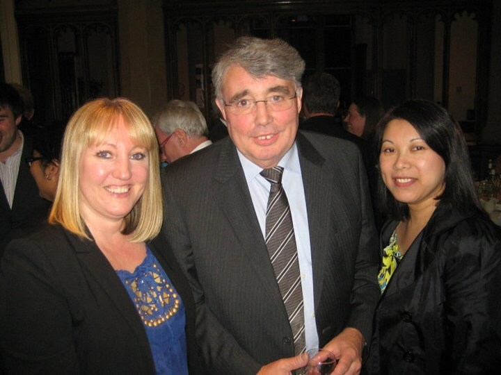 Paula, Peter and Irene taken at Peter's retirement party at UoM - June 2011