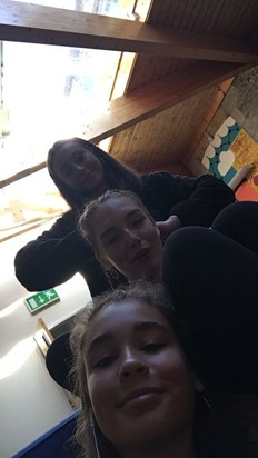 Darcy, Ava and in yr12. She plaited Ava's hair and we talked for hours. Her spark won't be forgotten and I'm sorry this cruel world took it away. She'll live on in people's hearts and actions and I'll love like she did, with passion and kindness.