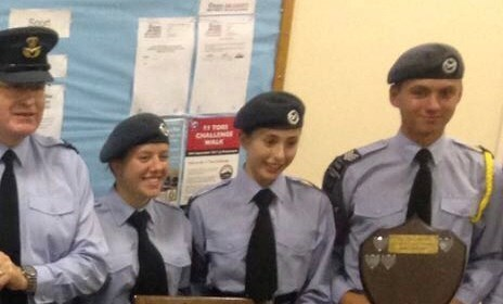 I'm sure you will curse me for sharing this Darcy, but that night at ATC your pride at wearing the uniform and potential shone bright.