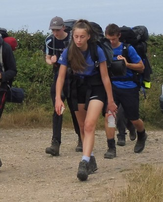 Darcy completes her DofE Silver expedition