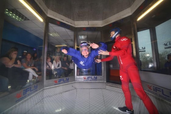August 2017 Indoor Skydiving in prep for the real thing