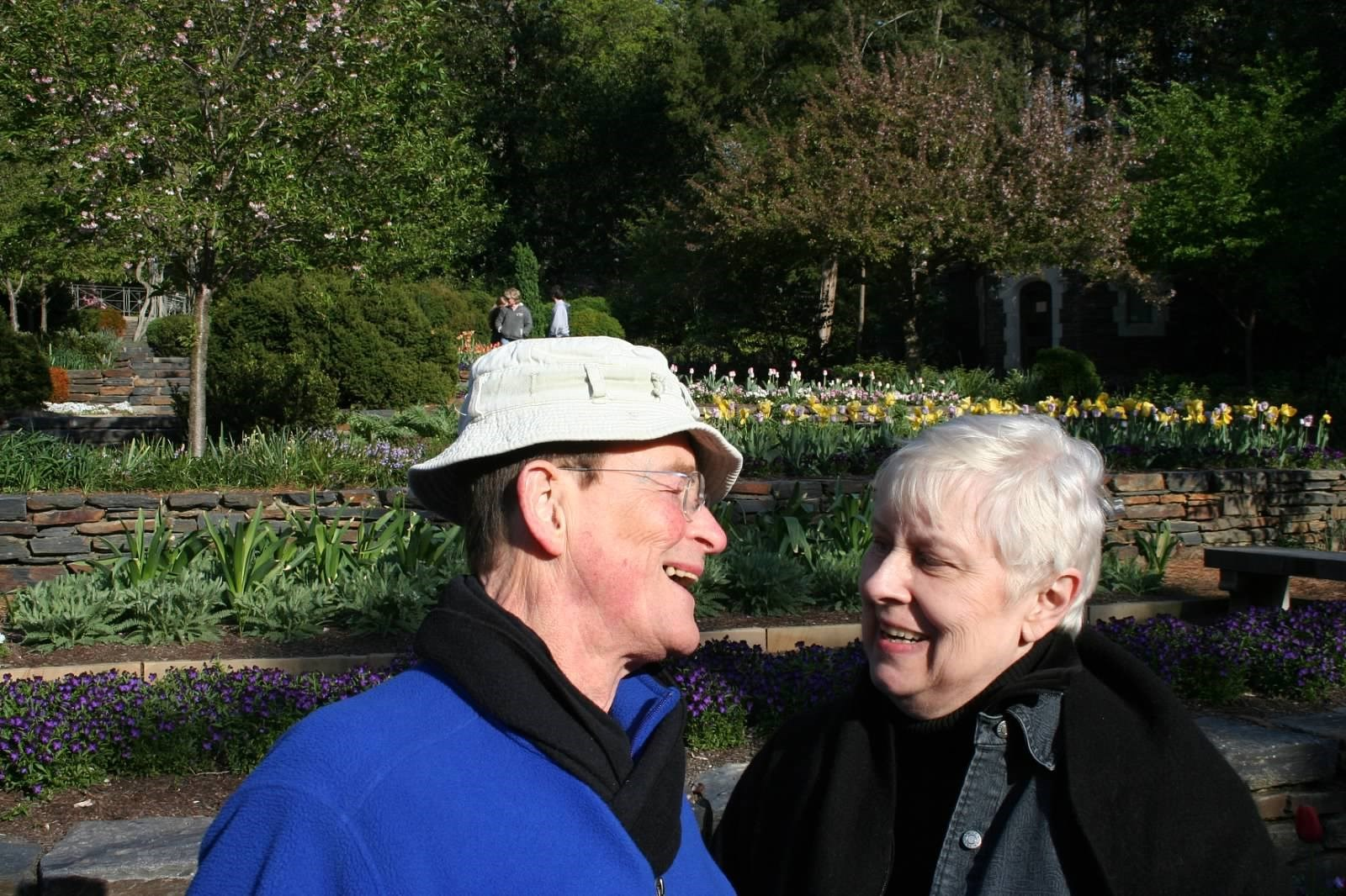 John and Julie, Duke Gardens
