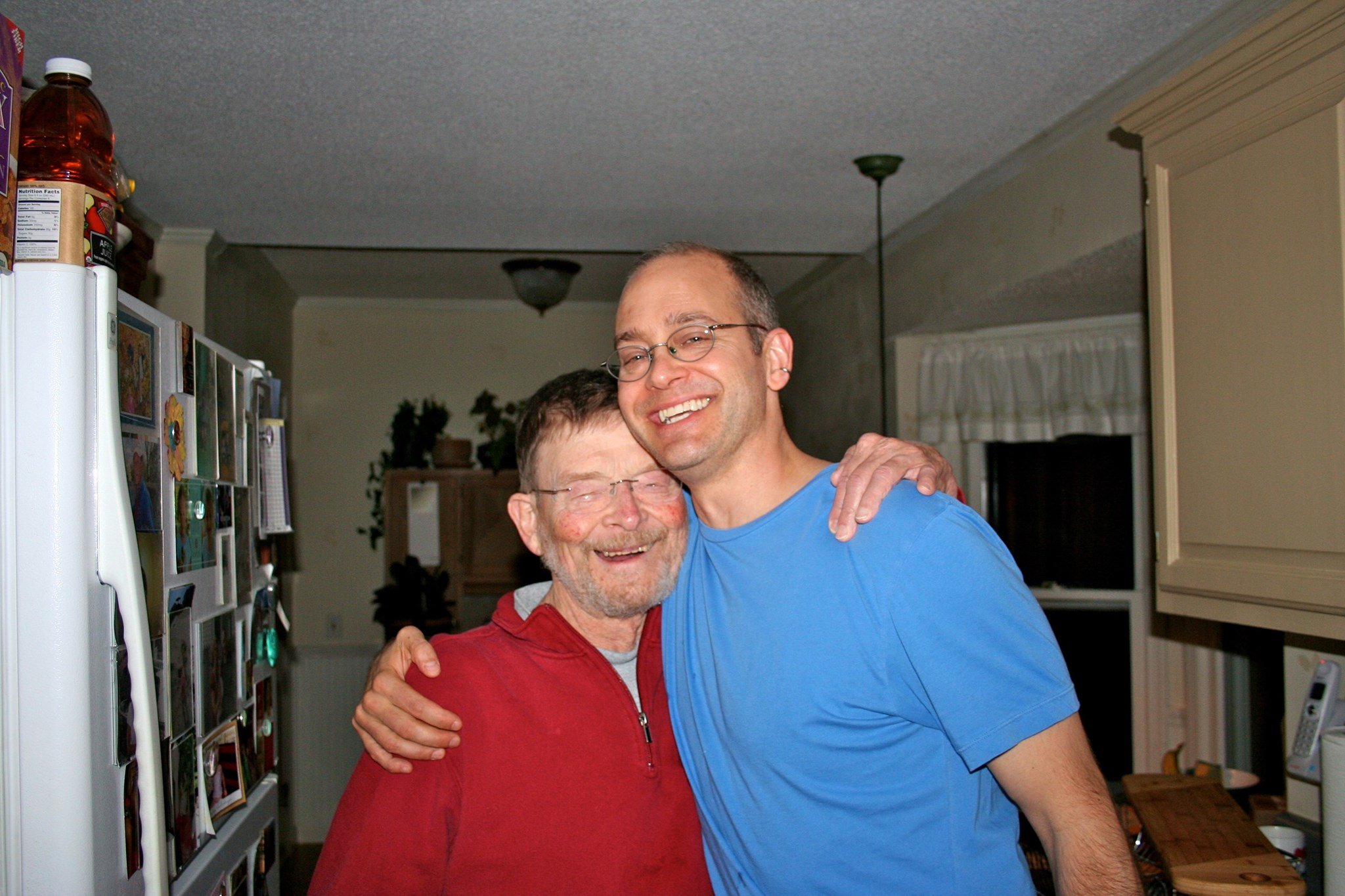 John and Dave, Carrboro NC, Xmas 2012