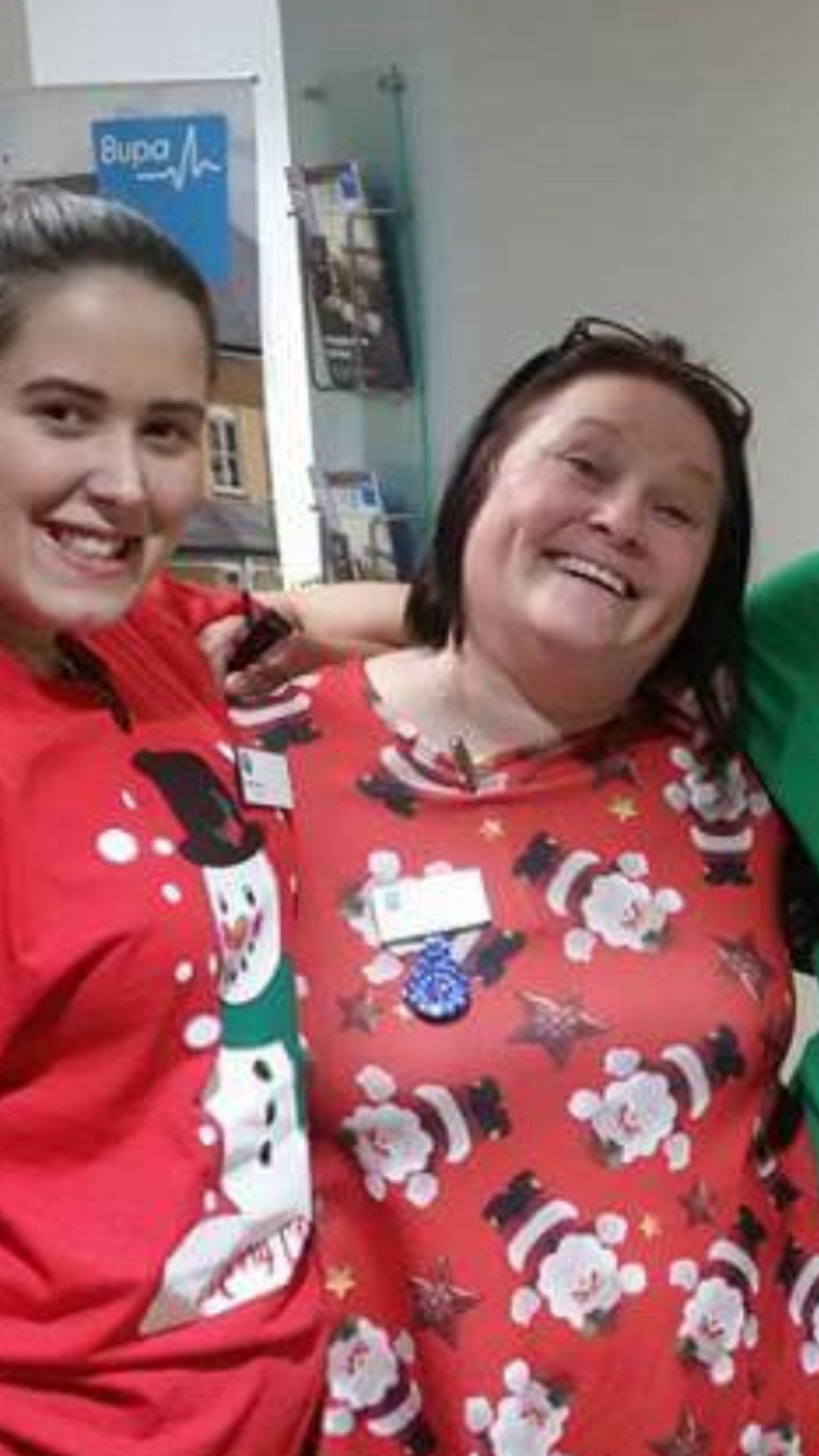 Just a few of us that worked all christmas day last year  ,will miss you this beaut xxxx