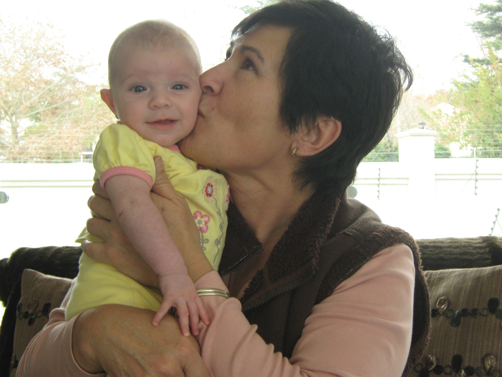 2009 With granddaughter Nicole