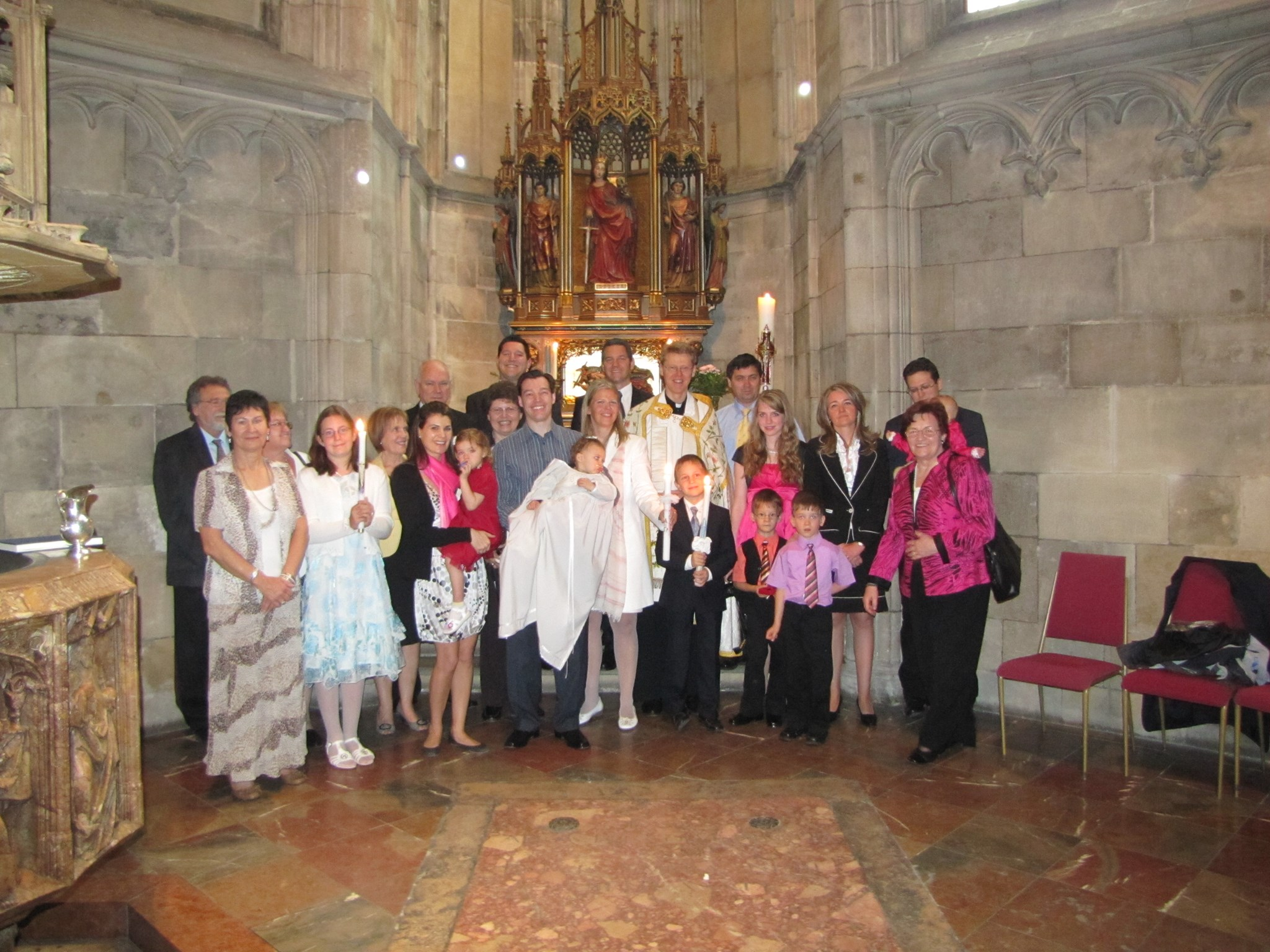 2011 Christening Alexandra at St. Stephen´s cathedral
