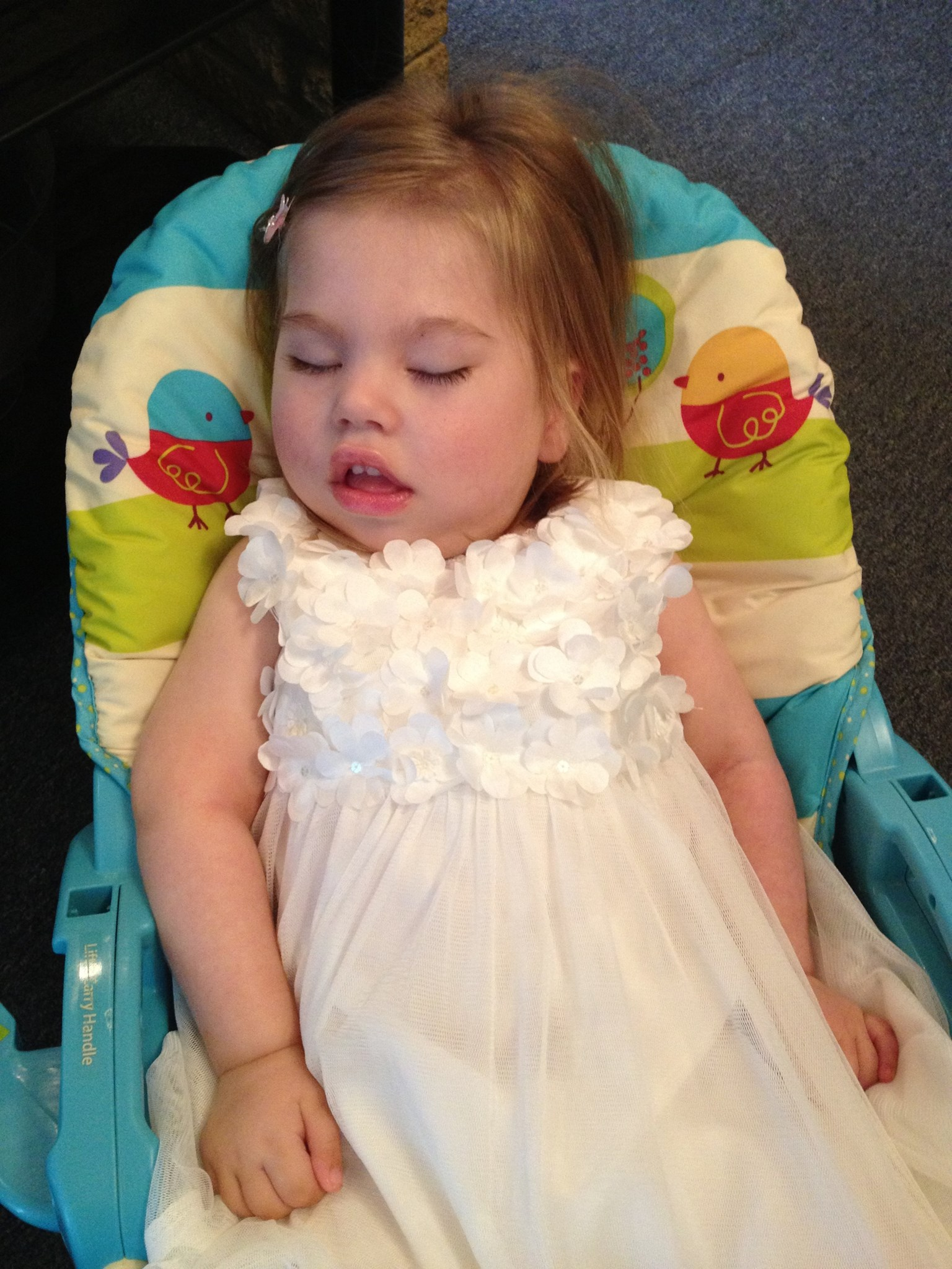 Grace on her Baptism Day.