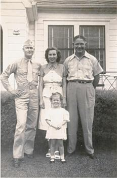 Bowden, Margaret, Uncle Floyd Wilcox and Little Patti