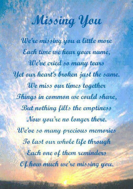 Missing you on mothers day. Lots of love always mark and Sharon xxxx