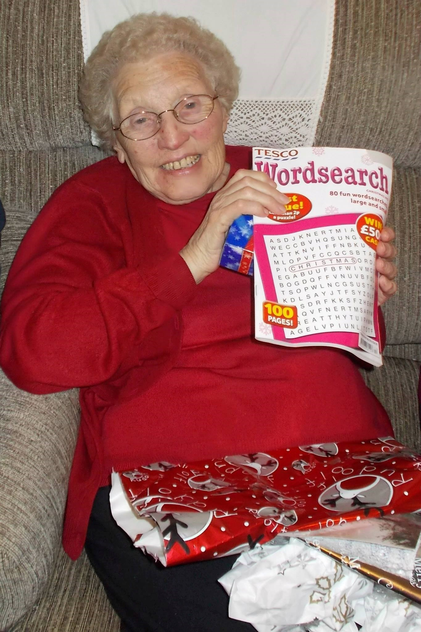 Nan loved her Word searches