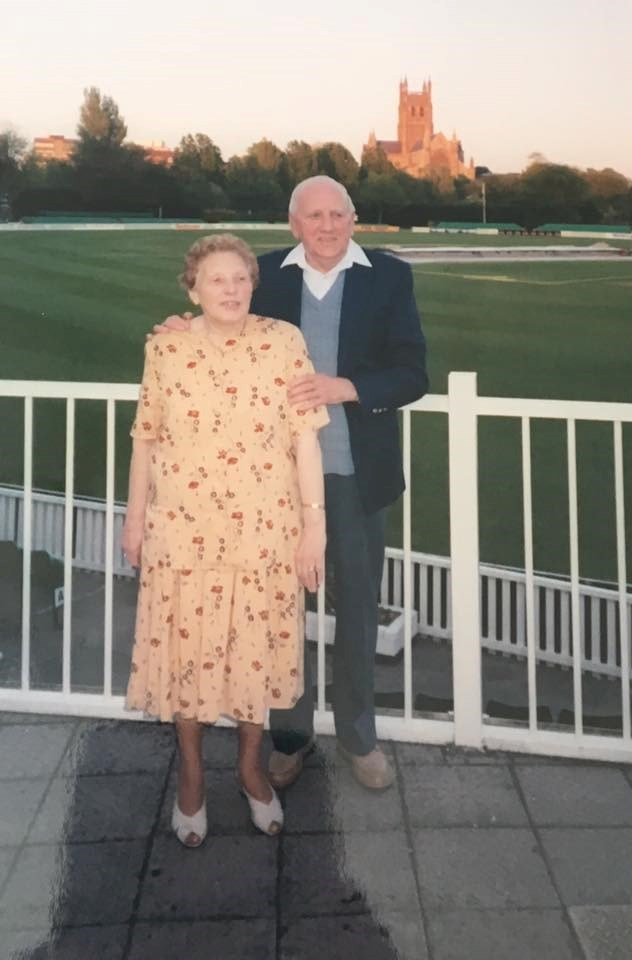 Another Wedding Anniversary, Party at Worcester Cricket Club.