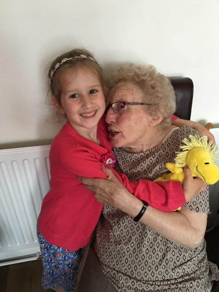 Loves her Great Nan