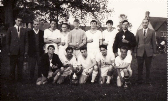 Henstridge Football Team 1963. Front row second from right.