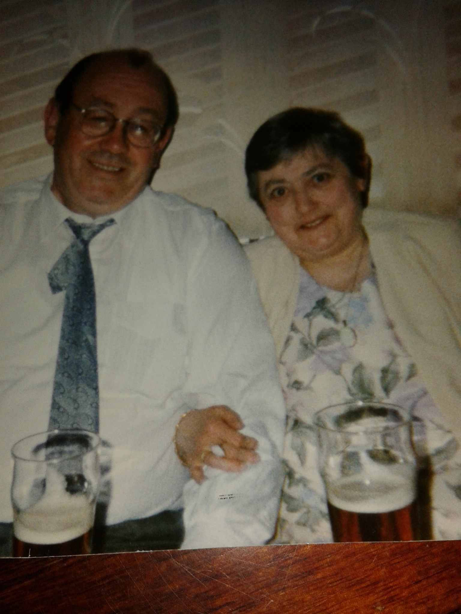 Jack & Margery (Wife of 32 Years)
