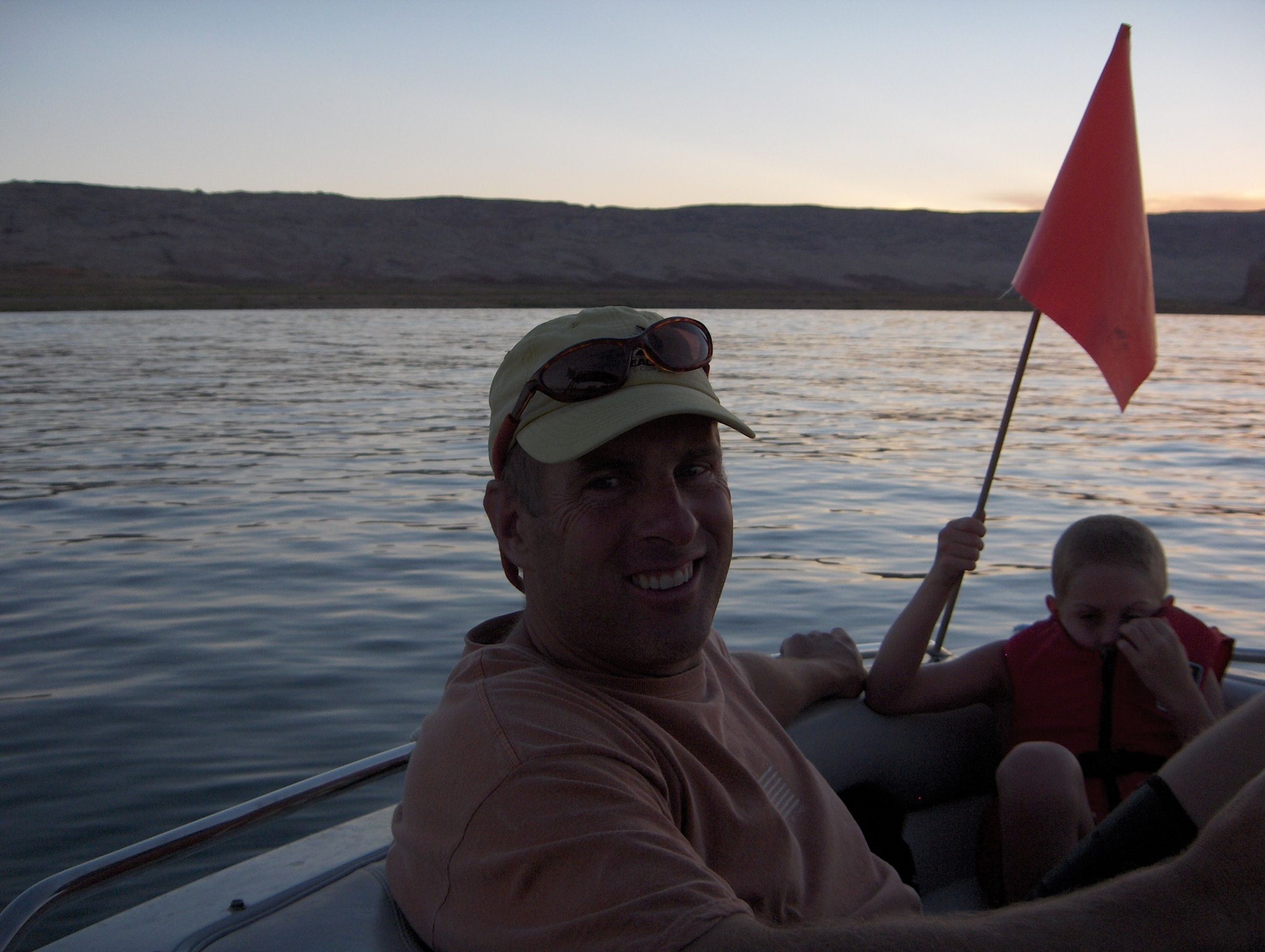 Good Times with Dad in Lake Powell