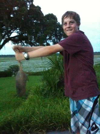 Catching Armadillos with my bare hands!