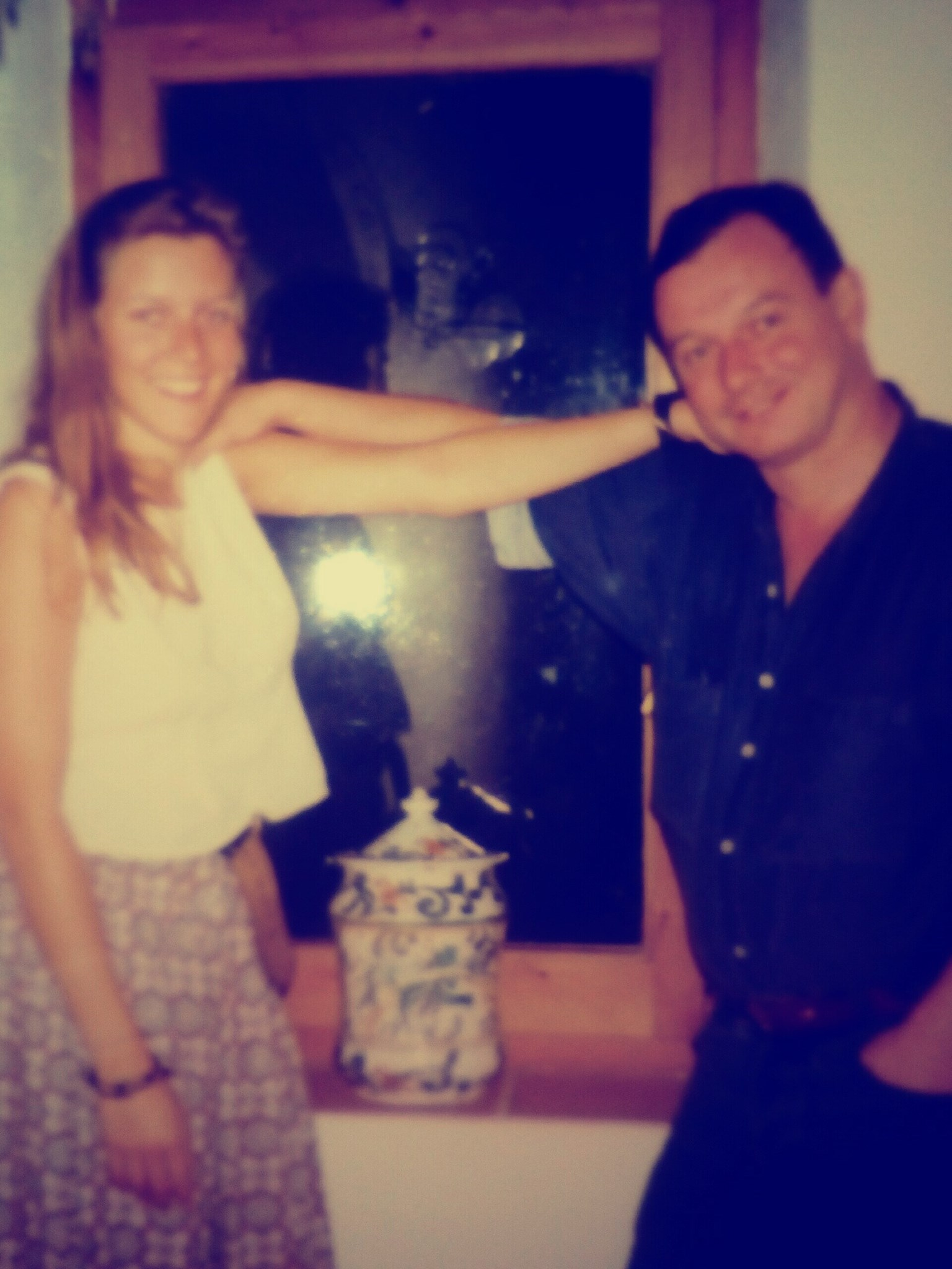 Suzie and Peter, Paciano 1990… such generous and kind hosts x