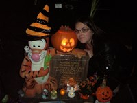 halloween with his mummy 2011