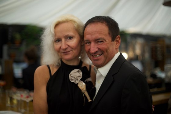 Mum + Dad at a wedding