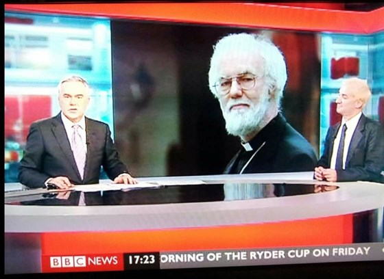 colin on BBC news