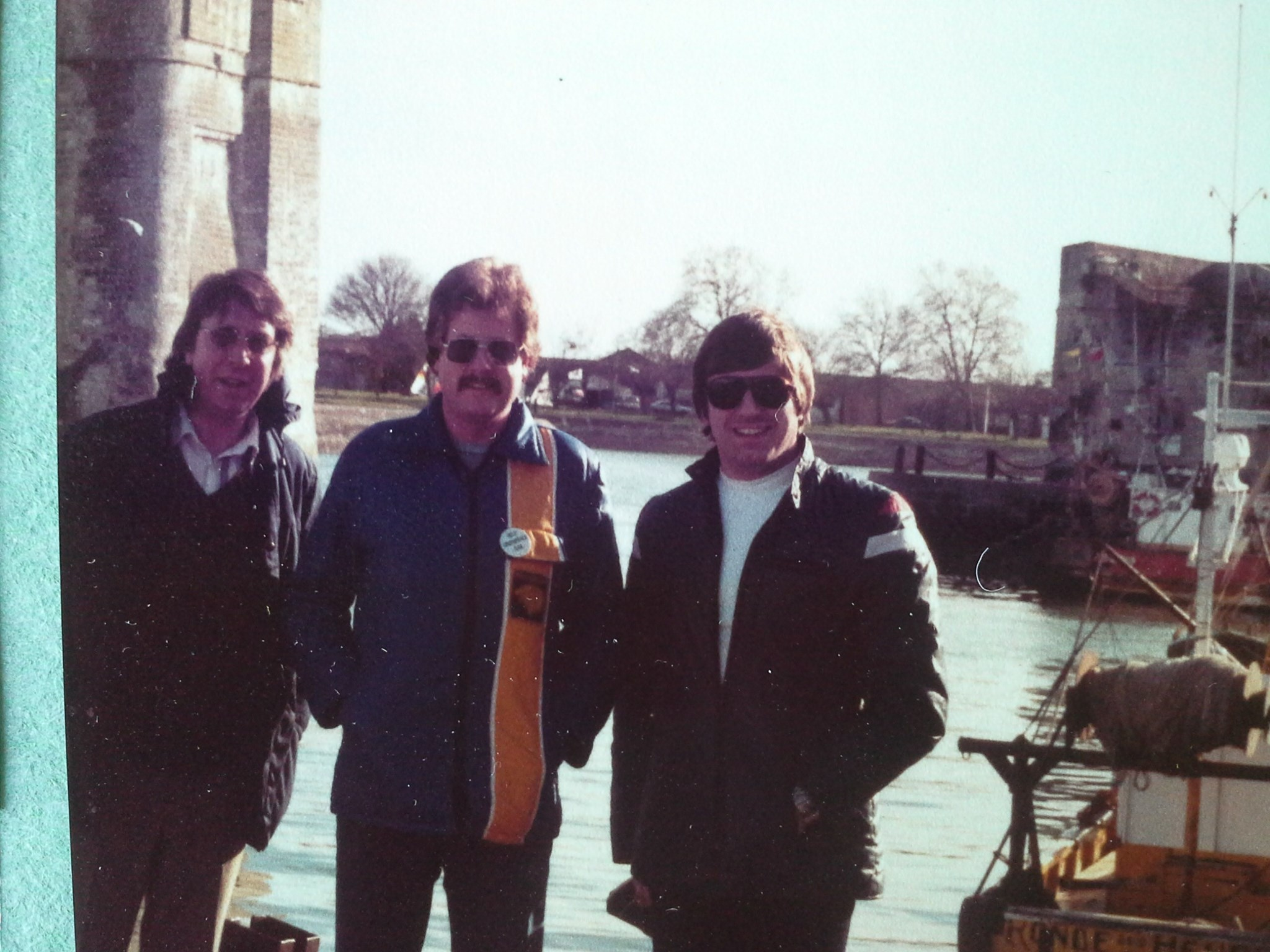 France 1986 on way to Spain. Bill Graham and Paul