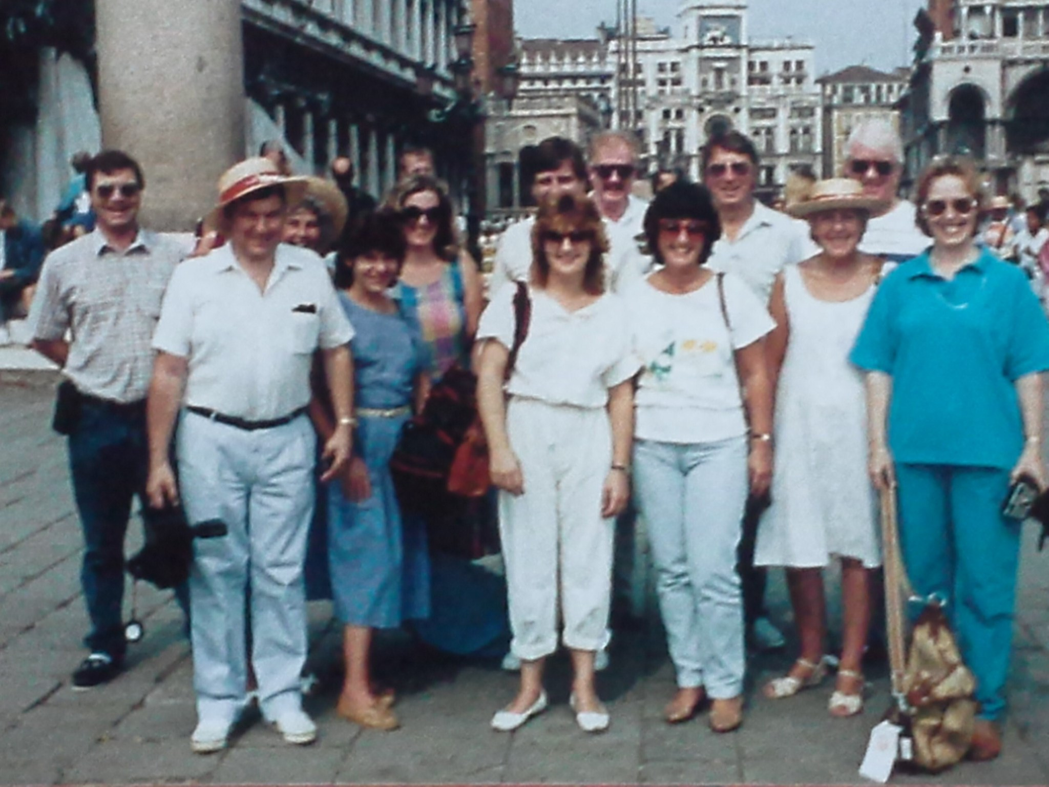 Courage team in Venice - 1980s