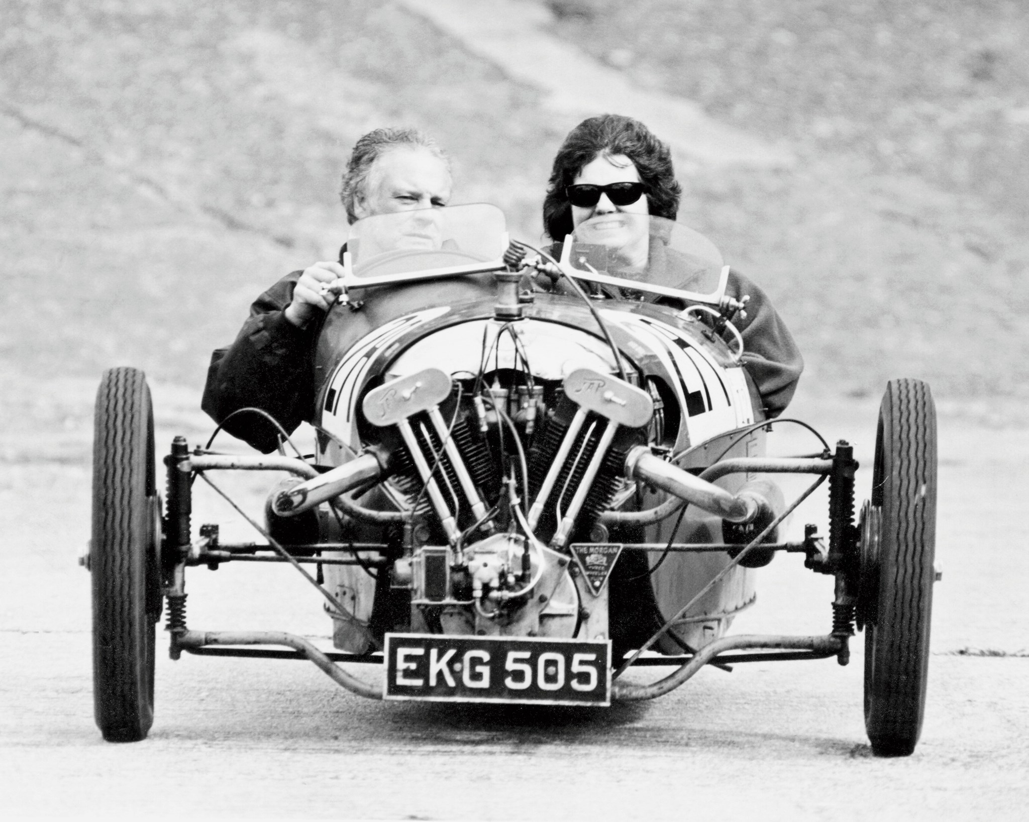 Hillclimbing in a Morgan - no fear!