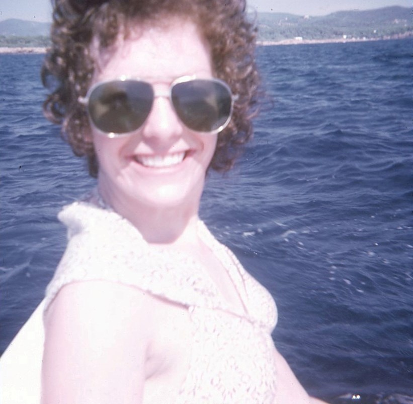 Honeymoon, Ibiza, 1974