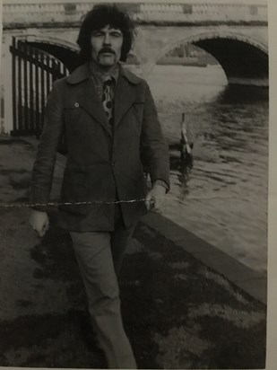 Brian in about 1975. I think he'd just been elected Labour town councillor for Henley.
