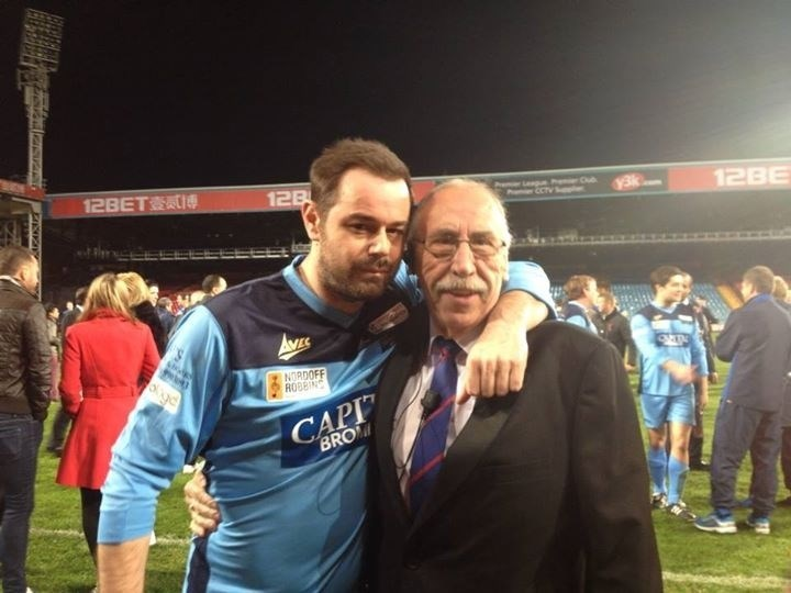 Mingling with the stars - Les & Danny Dyer
