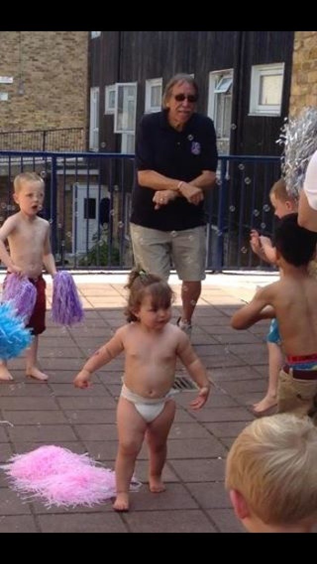 Gangham style with the kids
