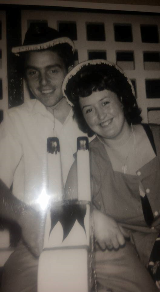 Barbara and Charlie in their courting days in Margate xx