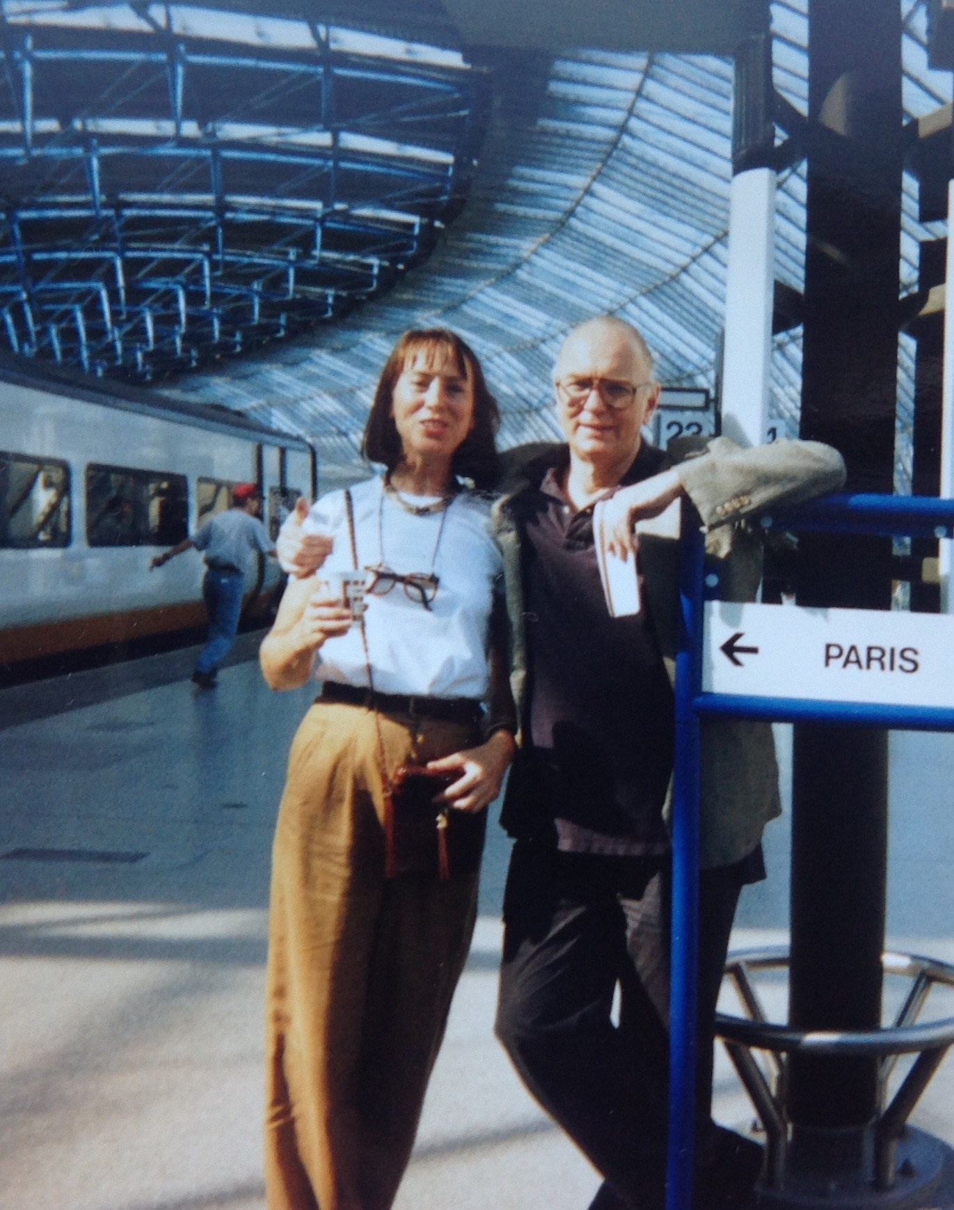 Jim and Wendy on a trip (Thank you Tom and Bettsy Mosimann)