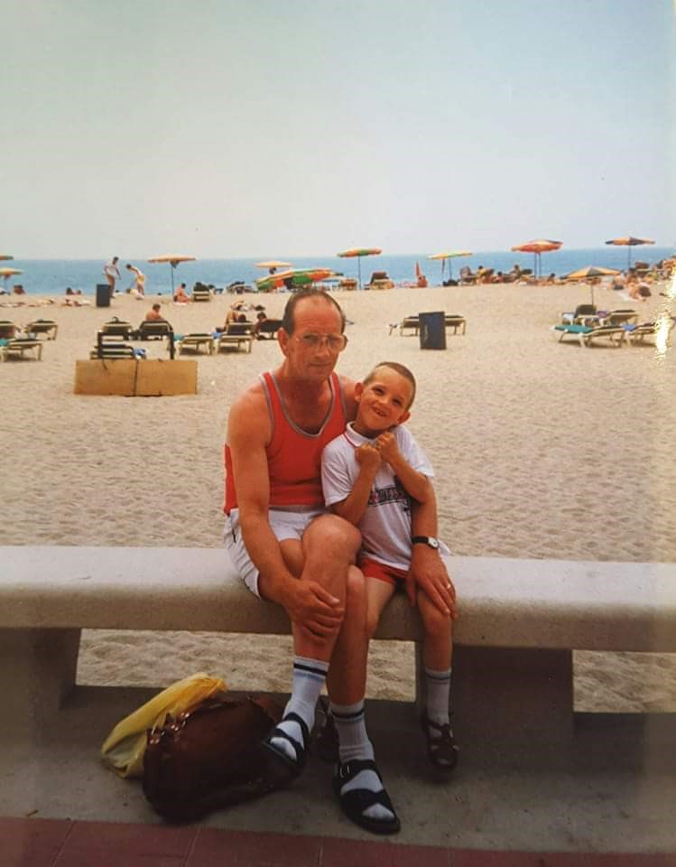 Happy memories my protector your protector missing you more each day dad xxxx