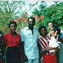 Iyetade (2nd from left) with sisters, brother-in-law and niece