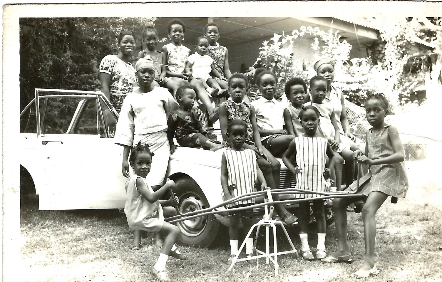 Fun party at home in UI (Iyetade is in the middle row, third from right)