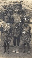 Iyetade and her two sisters, Peyi and Moremi.