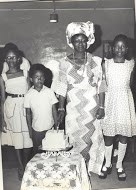 Iyetade, Granny and her younger sibblings.